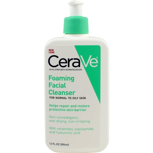 cerave foaming face wash